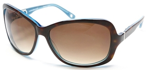 Alexander Daas Majesty Dark Tortoise/Blue with Brown Gradient Lenses